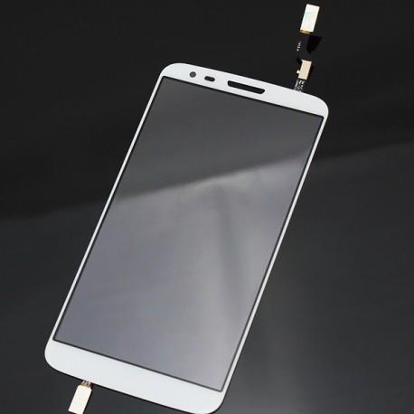 LG Optimus G2 D800 D801 D803 - Bílá dotyková vrstva, dotykové sklo, dotyková deska + flex