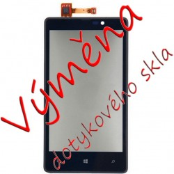 Replacing the touch layer Nokia Lumia 820 including frame