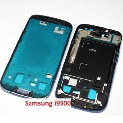 Samsung Galaxy S3 i9300 - rámeček, modrý střední díl, housing