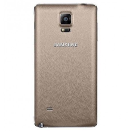 Samsung Galaxy Note 4 N910 - Gold - The rear battery cover