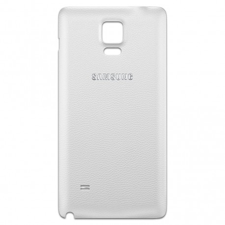 Samsung Galaxy Note 4 N910 - White - The rear battery cover