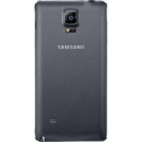 Samsung Galaxy Note 4 N910 - Black - The rear battery cover