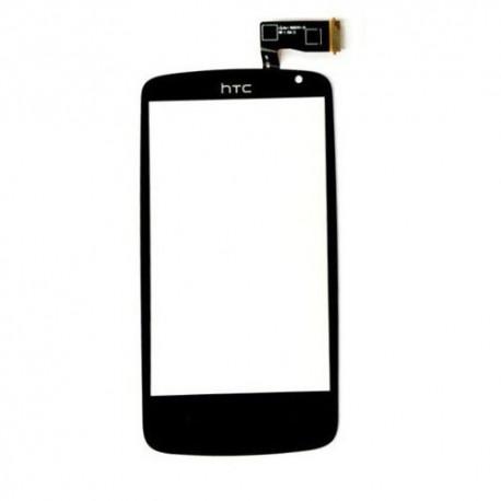 HTC Desire 500 - Černá dotyková vrstva, dotykové sklo, dotyková deska + flex