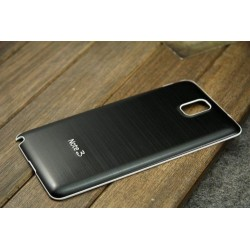 Samsung Galaxy Note 3 N9000 - Zadní kryt baterie - Hliník, Barva: Černá
