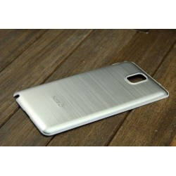 Samsung Galaxy Note 3 N9000 - Zadní kryt baterie - Hliník, Barva: Stříbrná