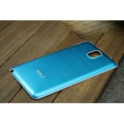 Samsung Galaxy Note 3 N9000 - Zadní kryt baterie - Hliník, Barva: Světle modrá