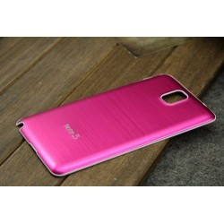Samsung Galaxy Note 3 N9000 - Zadní kryt baterie - Hliník, Barva: Růžová