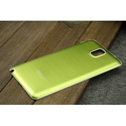 Samsung Galaxy Note 3 N9000 - Zadní kryt baterie - Hliník, Barva: Žlutá