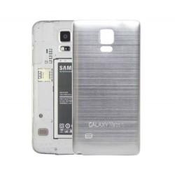 Samsung Galaxy Note 4 N9100 - Zadní kryt baterie - Hliník , Barva: Stříbrná