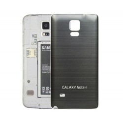 Samsung Galaxy Note 4 N9100 - Zadní kryt baterie - Hliník , Barva: Černá