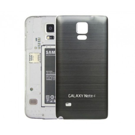 Samsung N9100 Galaxy Note 4 - Rear cover - Aluminum - Silver