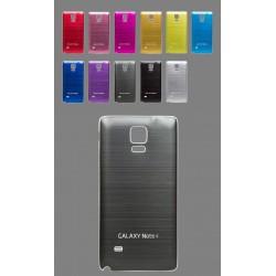 Samsung Galaxy Note 4 N9100 - Zadný kryt batérie - Hliník - Strieborný