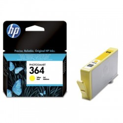 Žlutá inkoustová náplň HP 364 CB320EE originální HP Photosmart Plus, Premium, Premium Fax, B8550, D5460, C5380, C6380
