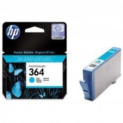Modrá inkoustová náplň HP 364 CB318EE originální HP Photosmart Plus, Premium, Premium Fax, B8550, D5460, C5380, C6380