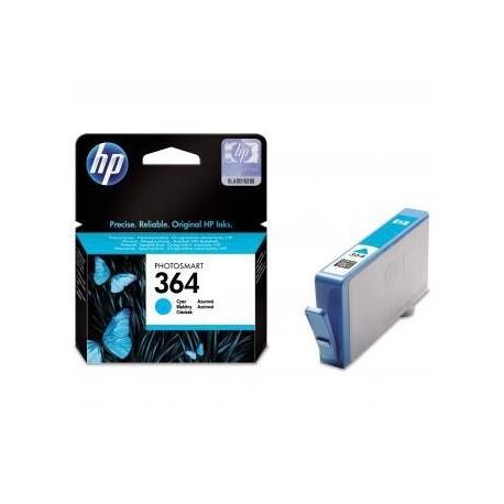 HP 364 Cyan (CB318EE) - Originální cartridge