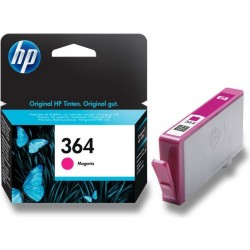 Červená inkoustová náplň HP 364 CB319EE originální HP Photosmart Plus, Premium, Premium Fax, B8550, D5460, C5380, C6380