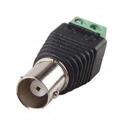 Redukce / konektor BNC female - dvoulinka - CCTV Video AV