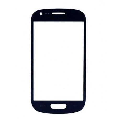 Samsung Galaxy S3 Mini i8190 - Tmavě (oblázkově) modré dotykové sklo