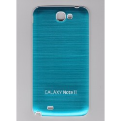 Samsung Galaxy Note 2 N7100 - Rear cover - Aluminium - Light Blue / White