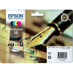 Sada Epson originálních inkoustů C13T16264010, T162640, CMYK, 3x3.1/5.4ml, Epson WorkForce WF-2540WF, WF-2530WF, WF-2520NF, WF-2