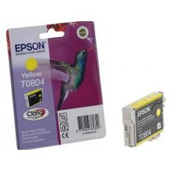 EPSON T0804 - žlutá - Originální cartridge