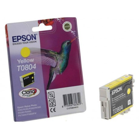 EPSON T0804 - yellow - Original Cartridges