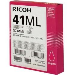 Ricoh originální gelová náplň 405767, magenta, 600str., GC41M, Ricoh AFICIO SG 3100, SG 3110