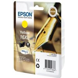EPSON T1634 16XL - žlta - Originálne cartridge