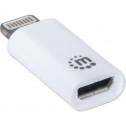 Manhattan iLynk Charge/Sync Adapter - bílý
