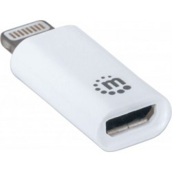 Manhattan iLynk Charge/Sync Adapter - white
