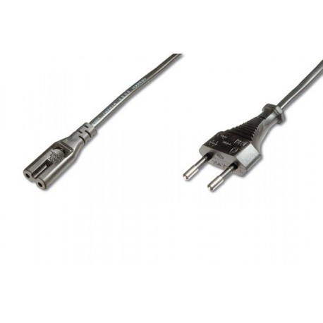 Power cable for laptops 2-pole, length 1.8 m