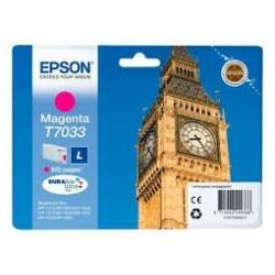 EPSON T7033 L - červená - originální cartridge