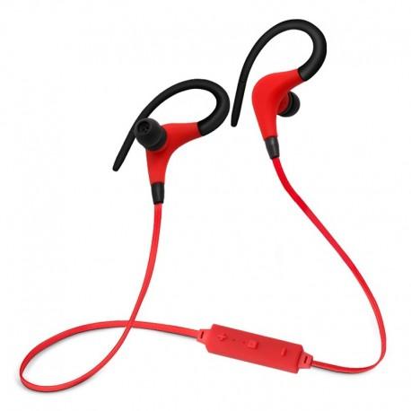 Bluetooth headset -black/red