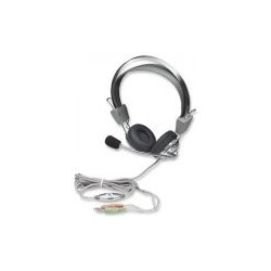 Manhattan headphones Stereo Headset with microphone