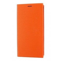 Pouzdro Xiaomi flipové Xiaomi Mi3 - oranžové