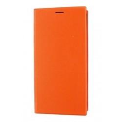 Puzdro Xiaomi flipové Xiaomi Mi3 - oranžové