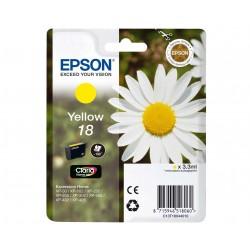 EPSON T1804 - žlta- Originálne cartridge