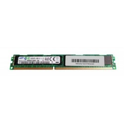 Memory module Samsung 8GB PC3-10600 DDR3-1333MHz ECC Registered CL9 240-Pin DIMM 1.35V Low Voltage Very Low Profile (VLP)