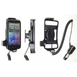 Brodit držák do auta na HTC Sensation/XE bez pouzdra, s nabíjením z cig. zapalovače 512268