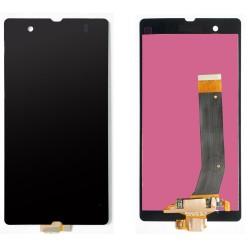 Sony Xperia LT36i Z L36h LT36h LT36 C6606 C6603 C6602 LCD dotykový displej - černá