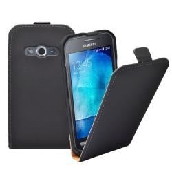 Pouzdro Flip ForCell Slim pro Samsung Galaxy Xcover 3 G388- černé