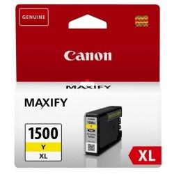 Canon PGI-1500XL Y - originální žlutá