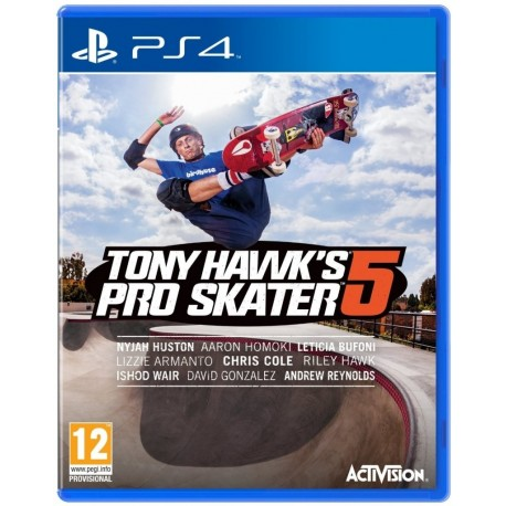 Tony Hawk`s Pro Skater 5 (PS4)