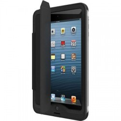 LifeProof Portfolio Cover/Stand for iPad Air nuud Case, Black