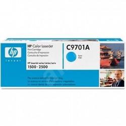 HP C9701A - originální toner - modrý