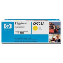 HP C9702A - original toner - yellow