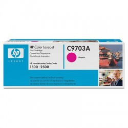 HP C9703A - original toner - red