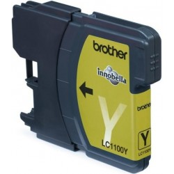 Brother LC-1100 Yellow - Yellow original cartridge