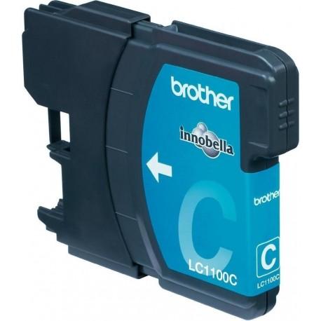 Brother LC-1100C Blue - Modrá originální cartridge