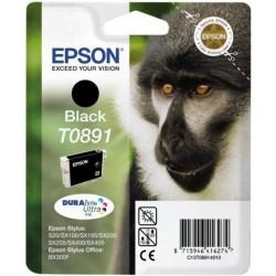 Originální Epson inkoustová náplň T0891 pro Stylus SX115, SX218, SX415 - černá, 175 stran